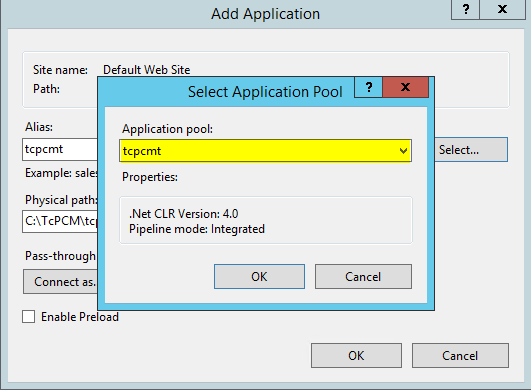 Installing TCPCM with IIS & Nginx – HOME | Welcome To Fusion